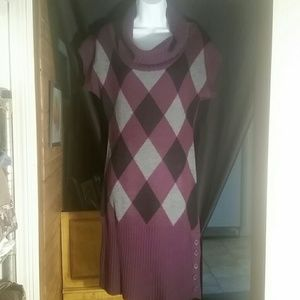Knit Minded 1x woman's sweater dress
